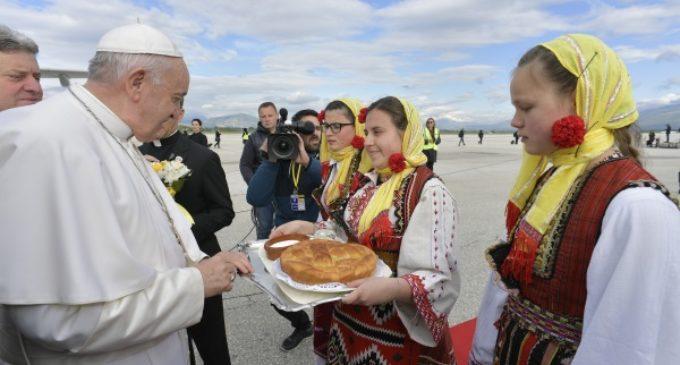Primera visita pontificia a Macedonia del Norte, país independiente desde 1991