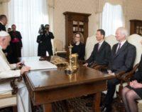 Los príncipes de Liechtenstein recibidos por el Santo Padre