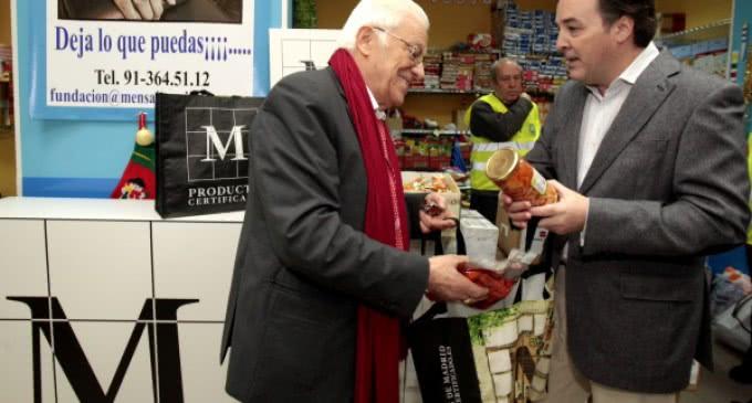 Los productores de la Comunidad de Madrid se solidarizan con los más necesitados
