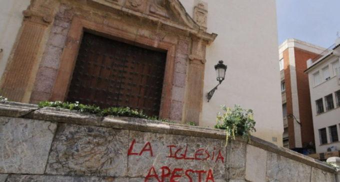 Profanaciones y pintadas en templos: así se manifiesta el odio a los cristianos en España