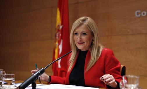 Mensaje de Año Nuevo de la presidenta de la Comunidad de Madrid Cristina Cifuentes en Telemadrid