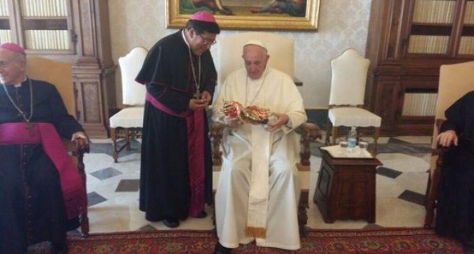 El Papa anima a los obispos de Ecuador a celebrar un sínodo sobre la Iglesia en la Amazonía