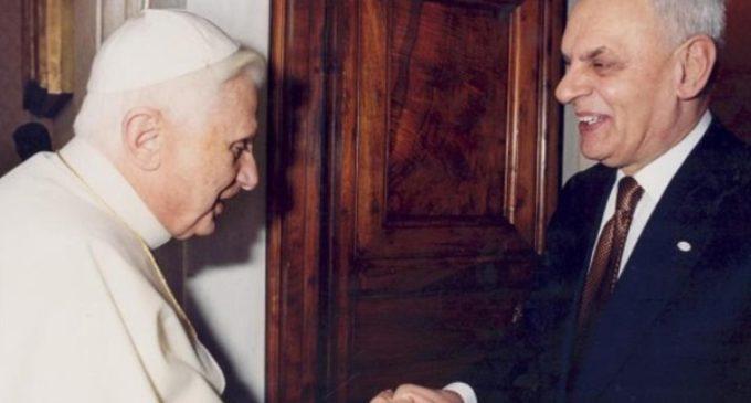 Ratzinger se desmarca de las nuevas tesis de Marcello Pera