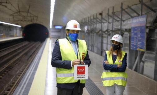 Reabierto el tramo de la línea 9 de Metro entre Plaza de Castilla y Colombia
