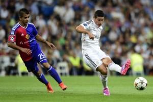 Real Madrid-James