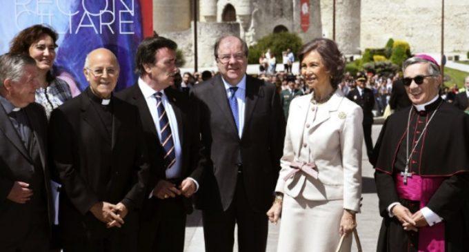 La reina Sofía califica de «impresionante» la XXII edición de las Edades del Hombre