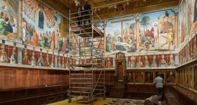 El Renacimiento de las pinturas de Juan de Borgoña en la Catedral de Toledo