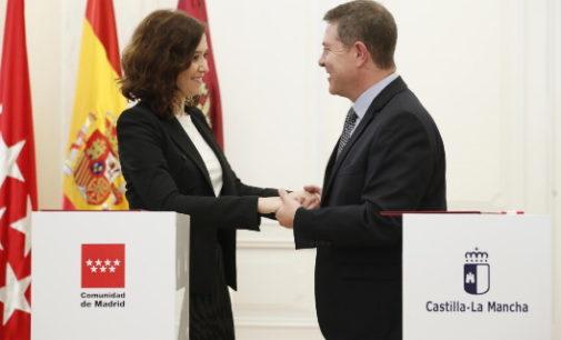 La Comunidad de Madrid renueva el convenio con Castilla-La Mancha para el abono transporte en 2021