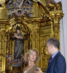 Restauración Retablo Convento de Las Mercedarias 1
