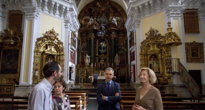 El retablo de San Antonio de la iglesia de las Góngoras ha sido restaurado por la Comunidad de Madrid