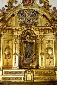 Restauración Retablo Convento de Las Mercedarias 3