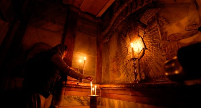 Resucita para Semana Santa el lugar más sagrado del Cristianismo