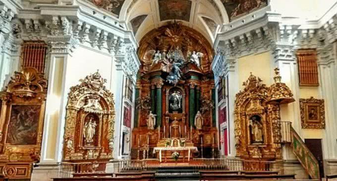 La Comunidad de Madrid restaura el retablo de Nuestra Señora de la Soledad que data del siglo XVIII