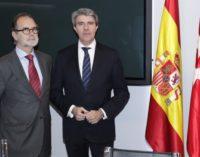Garrido se reúne con el presidente del TSJM en la Comisión Mixta entre la Comunidad y el Tribunal