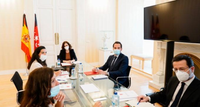 Comunicado del Gobierno de la Comunidad de Madrid, tras las reuniones con los portavoces de los grupos parlamentarios
