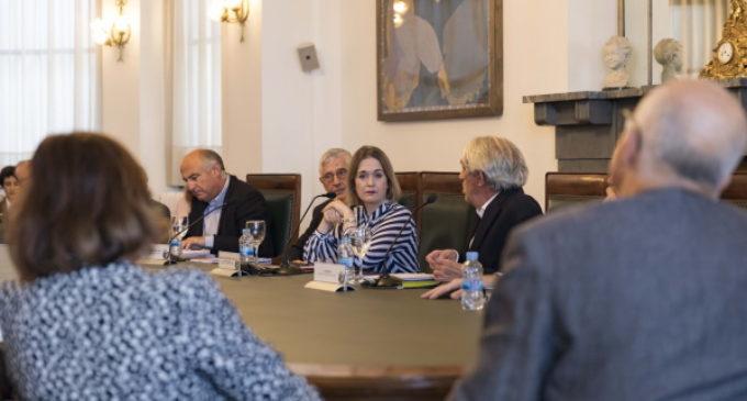 Rivera participa en la presentación de la nueva temporada del Círculo de Bellas Artes