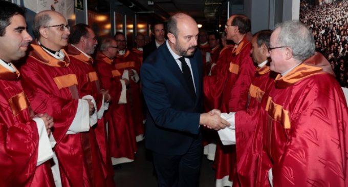 Rollán asiste a la ceremonia de beatificación de 60 religiosos en Vistalegre