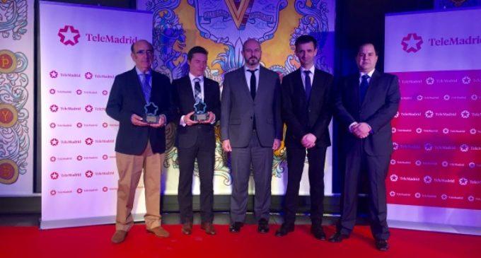 Rollán asiste a la entrega de los XX Premios Taurinos de Telemadrid