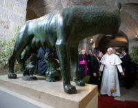 Roma: Francisco visita el Capitolio y se reúne con la alcaldesa Virginia Raggi