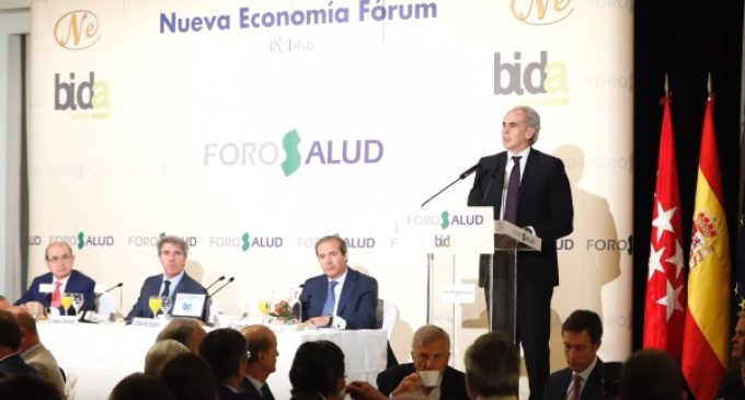Ruiz Escudero apuesta por transformar la Sanidad madrileña combinando humanización y las últimas tecnologías y tratamientos