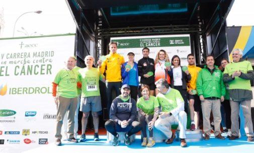 Ruiz Escudero entrega los premios a los ganadores de la carrera contra el cáncer