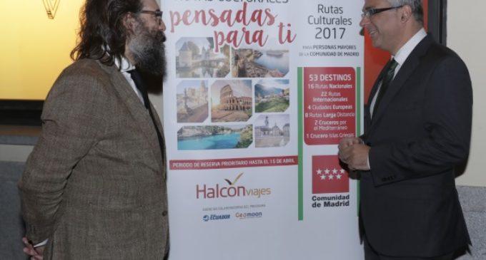Las Rutas Culturales de la Comunidad ofertan más de 160.000 plazas para personas mayores