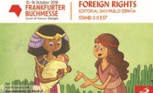 Del 10 al 14 de octubre,  SAN PABLO estuvo en la Feria  del Libro Frankfurt, la mayor Feria del sector editorial en el mundo