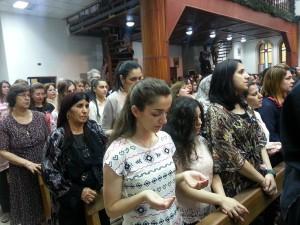 Sako 4.Misa final del Sinodo de la Iglesia Caldea, celebrado el pasado junio en Ankawa