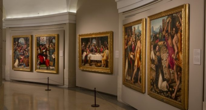 Un oratorio desconocido de Juan de Juanes, conocido como el Rafael español,  culmina su sala propia en el Museo del Prado