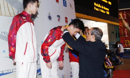 Cerca de 60 deportistas de 14 países participan en el XXIX Torneo Internacional de Saltos de la Comunidad