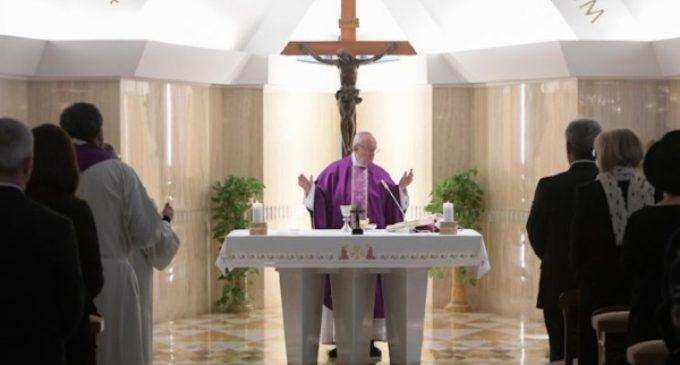 El Papa en Santa Marta: El camino de conversión cuaresmal pide hacer el bien concretamente