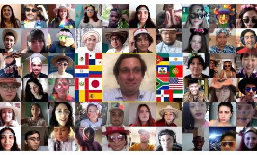Scholas Occurrentes: El alcalde de Madrid se réune con más de 150 jóvenes