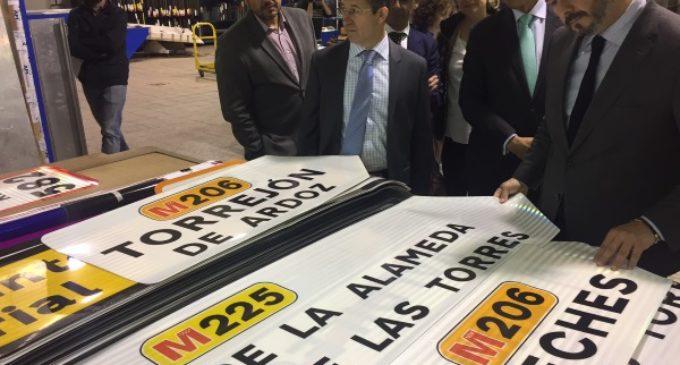 Las carreteras de la Comunidad de Madrid cuentan con 77.800 señales de tráfico para garantizar una correcta seguridad vial
