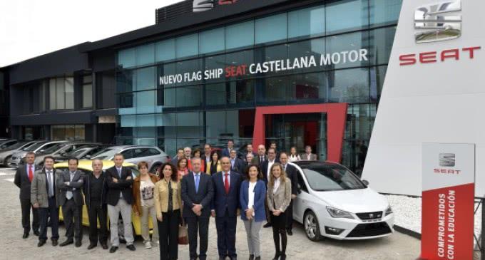 3.600 alumnos madrileños de 16 institutos de FP se beneficiarán en sus estudios de coches cedidos por Seat