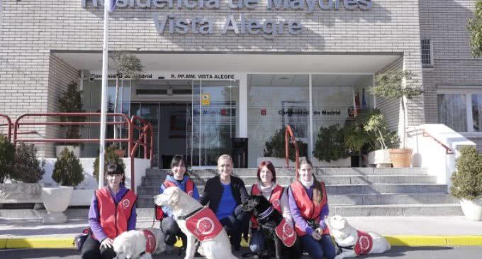 Cifuentes presenta el Servicio de Intervención Canina de la Comunidad para atender a niños, mayores y personas hospitalizadas