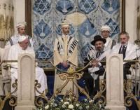 Francisco en su visita a la Sinagoga mayor de Roma: «Todos pertenecemos a una única familia, la familia de Dios»