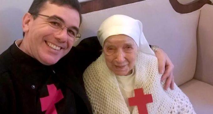 Fallece Sor Cándida a los 110 años. El secreto de su longevidad