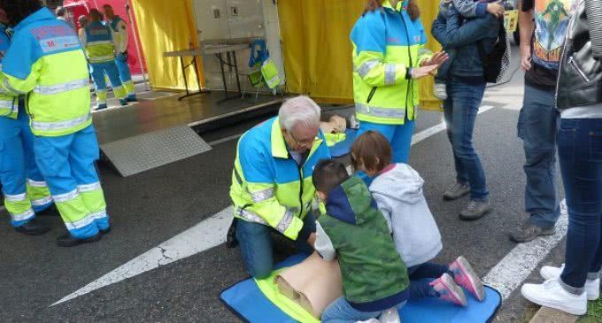 El SUMMA 112 organiza actividades dirigidas a que los niños actúen ante un paro cardiaco