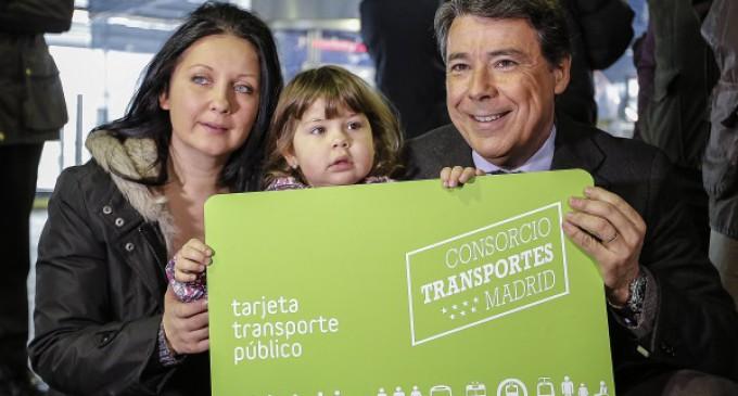 Los niños hasta los 6 años, incluidos, podrán viajar gratis en el transporte público de Madrid