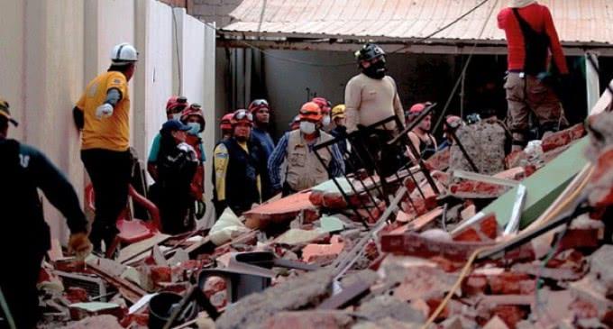 Arzobispo Lorenzo Voltolini: «En el terremoto de Ecuador, la Iglesia está en primera línea»