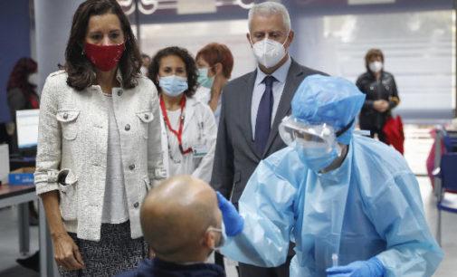 Madrid ha realizado más de 319.000 test de antígenos tras convocar a más de 1,1 millones de ciudadanos