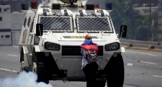 El Tiananmen venezolano