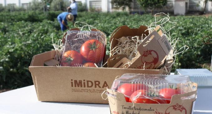 Madrid comercializará por primera vez tres variedades de tomate tradicional recuperadas en la región