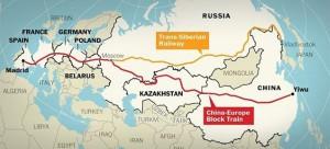 Tren China-Madrid