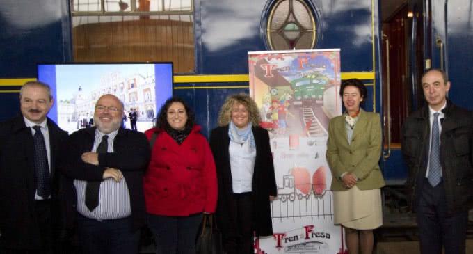 La Comunidad de Madrid apuesta un año más por el turismo cultural con el Tren de la Fresa