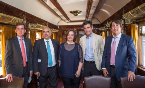 Comienza la temporada de turismo a San Lorenzo de El Escorial con el Tren de Felipe II