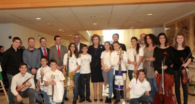Niños tutelados de la Comunidad participan en un concierto para mayores con Alzheimer