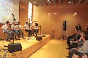 """Concierto """"Música de reciclaje"""" en el Auditorio del Centro Alzheimer de la Fundación Reina sofíaCENTRO Alzheimert de la Fundación Reina Sofía. Foto: Miguel Berrocal/Comunidad de Madrid"""