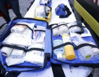 Un botiquín portátil nos ayuda a atender urgencias leves en los desplazamientos y excursiones
