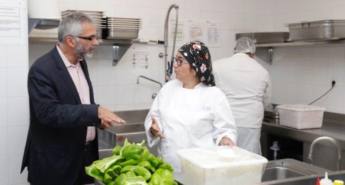 La Comunidad tiene previsto dar este año más de 1,1 millones de servicios de comida a personas en situación de vulnerabilidad